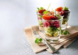 cuisine de a à z verrines verrines przekąski paryżanek