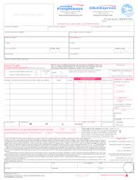 canadianfreightwayscom fill online printable fillable blank