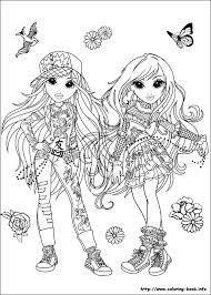 moxie girlz coloring pages coloring book