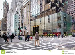 Trump Tower Nyc by Trump Tower Clock At Fifth Avenue Nyc Editorial Photography