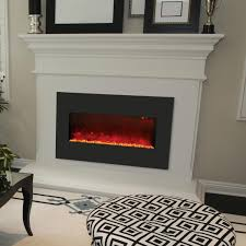faux fireplace with shelves home decor waplag interior in modern