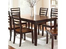 dining room table with butterfly leaf abaco solid wood acacia top rectangular leg table with self