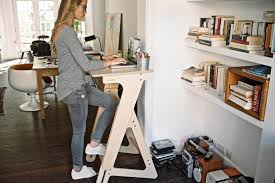 Adjustable Standing Desk Diy Diy Adjustable Standing Desk Home Thediapercake Home Trend