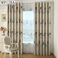 online get cheap bird screening voile curtains aliexpress com
