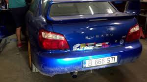 subaru impreza hatchback custom subaru impreza wrx sti custom 3 inch exhaust youtube