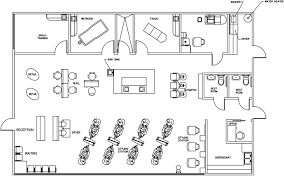 design a beauty salon floor plan beauty salon floor plan design layout 2385 square foot