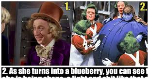 Willy Wonka Meme Picture - 18 goofs we barely saw in willy wonka