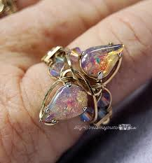make jewelry rings images Tutorial to wire wrap a crystal ring intermediate to advanced etsy jpg