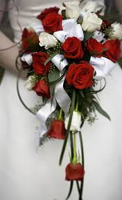 red and white rose wedding flowers pictures for brides png red