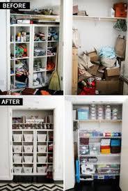 Closet Craft Room - craft sewing closet organizing craft and room