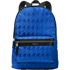 michael kors kent startooth jacquard backpack accessories