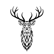 tribal stag ii by hareguizer on deviantart