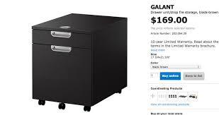 Ikea Filing Cabinet Filing Cabinets Ikea Galant File Cabinet Ikea 10year Limited