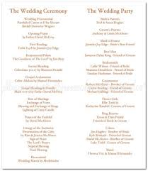 Wedding Ceremony Programs What Do I Include In A Ceremony Program Weddings Etiquette And