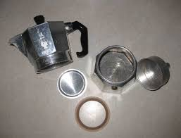 italian espresso maker using a stove top espresso maker random bits of projects