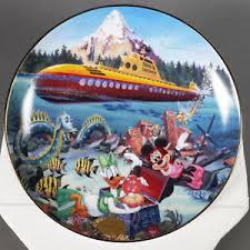 40th anniversary plate walt disney bradford submarine voyage disneylands 40th anniversary