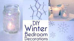room decor diy winter bedroom decorations tutorial decorateyou