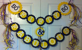 best 50th anniversary decorations party ideas