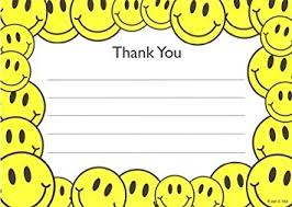 kids thank you cards kids smiley thank you cards fill in style 8