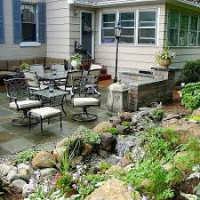 outdoor water features with lights landscape design ideas w patio water feature in brighton new