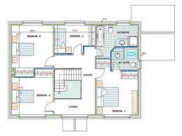 floor plan with perspective house sketch of a modern dream house u2013 modern house