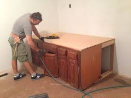 how to make a desk from kitchen cabinets old kitchen cabinets into built in bed hometalk