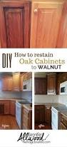 Kitchen Cabinet Finishes Ideas Best 25 Staining Oak Cabinets Ideas On Pinterest Painting Oak