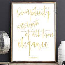 coco chanel quote print by beau typographie notonthehighstreet com coco chanel quote print