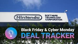 nintendo 3ds xl black friday nintendo switch black friday cyber monday deal tracker 2017
