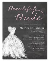 bridal invitations for chalkboard bridal invitations