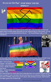 Lgbt Flag Meaning Lgbtq Rainbow Flag Is White Supremacy Album On Imgur