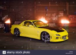 rx7 modified series vi fd3s mazda rx7 rotary engined japanese sports