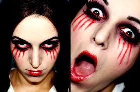 creepy little living dead doll halloween makeup youtube