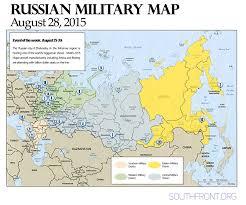 Arctic Ocean Map Military Map August 28 2015