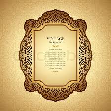 vintage background design elegant book cover victorian style