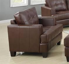 Coaster Leather Sofa Brown Leather Sofa Set Samuel Collection Item 504071