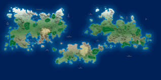 World Map High Resolution by The World Of Khoras Maps
