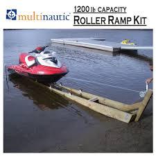 ramp kit for pwc or small watercraft 1200 lb lake dock