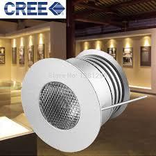 cree led under cabinet lighting aliexpress com buy 3w 3v 12v round mini led kitchen under