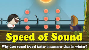 What Travels Faster Light Or Sound Why Does Sound Travel Faster In Summer Than In Winter Youtube