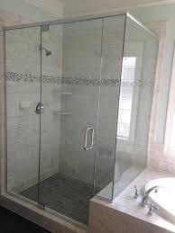 Bypass Shower Door Seamless Shower Doors Socialdecision Co
