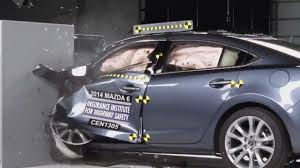 small mazda 2013 crash test 2014 mazda 6 iihs small overlap test acceptable