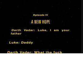 I Am Your Father Meme - episode iv a new hope darth vadar luke i am your father luke daddy