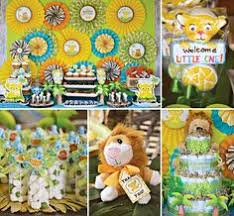 lion king themed baby shower the lion king baby shower baby showers ideas