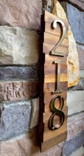 metal house number plaque foter