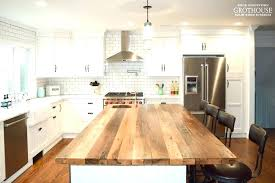 wood top kitchen island butcher block island top salmaun me