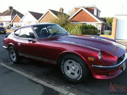 nissan 260z 260z 2 seater rare right hand drive