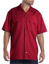 short sleeve work shirt mens shirts dickies