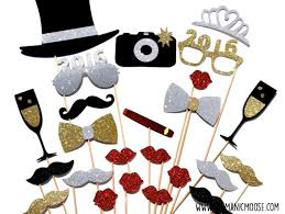 new years party backdrops new years photo booth props deluxe set silver and gold