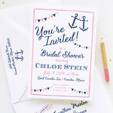 Nautical Bridal Shower Invitations Custom Bridal Shower Invitations U2013 Gangcraft Net